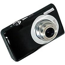 Digitalkamera, Stoga DV-V100 Mini 5x optischer Zoom 2,7 Zoll TFT LCD HD Digital Kompaktkamera-Schwarz