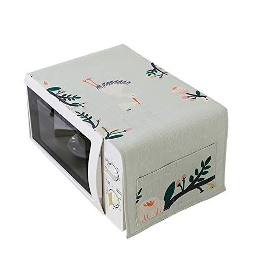 Haodou Cubierta del horno de microondas Cubierta de polvo Tela doméstica de...
