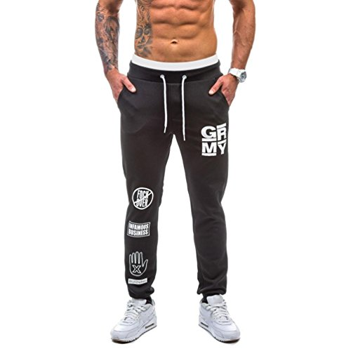 Herren Hose, MalloomMänner Sport Gym Fitness Jogging Elastische Stretchy Bodybuilding Trainingshose