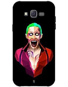 myPhoneMate Joker Jared Leto Designer Printed Hard Matte Mobile Case Back Cover for Samsung Galaxy J5 (2015)