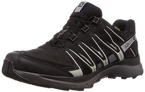 cc6ea92a29a63 Salomon XA Lite GTX, Scarpe da Trail Running Uomo, Nero (Black/Quiet  Shade/Monument), 43 1/3 EU