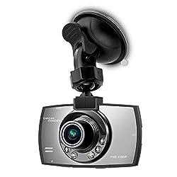 kwmobile Auto Kamera Full HD Dash Cam Blackbox 1080p KFZ Camcorder mit Bewegungssensor
