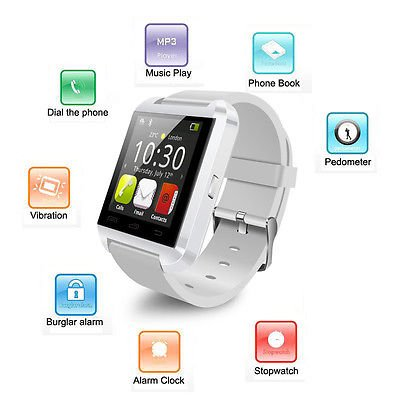 JYARA Bluetooth Smart Watch Phone Wrist Watch Phone with activity trackers and fitness band. Compatiable for Panasonic Lumix DMC-CM1  available at amazon for Rs.699