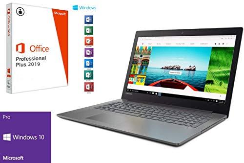 "Laptop Lenovo 320-15IAP - 1000GB HDD - 8GB RAM - Windows 10 Pro + MS Office 2016 Pro - 39cm (15.6"" LED TFT)"