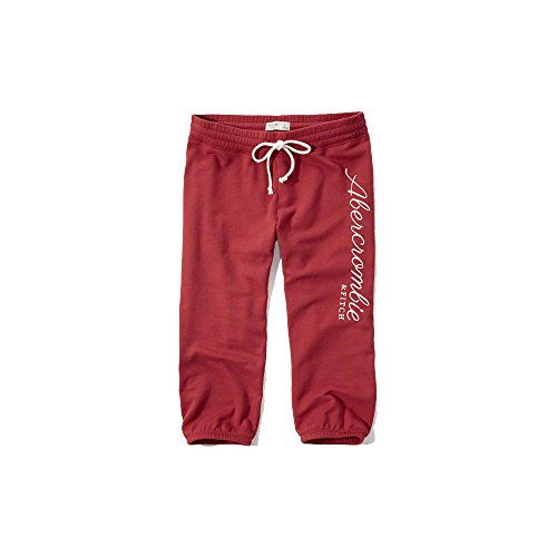 abercrombie-fitch-damen-crop-pants-burgund-neue-kollektion-s