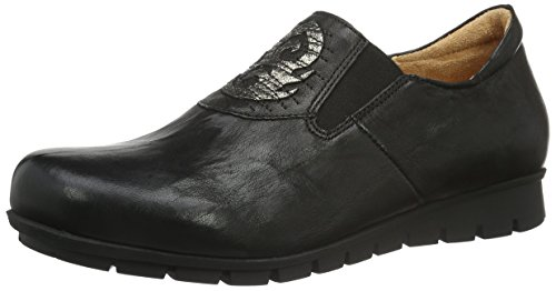 Think Damen Menscha Slipper, Schwarz (SZ/Kombi 09), 37 EU
