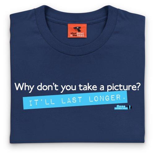 Tube Crush Last Longer T-Shirt, Herren Dunkelblau