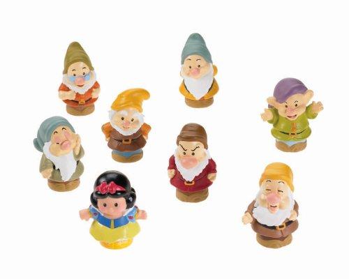 Fisher-Price - Snow White and the 7 dwarfs, dolls (Mattel Y2781)