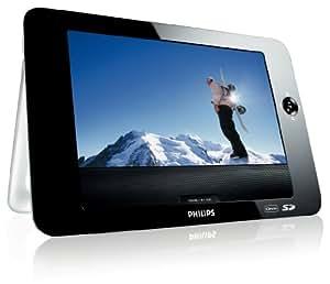 philips pet831 lecteur de dvd portable ecran lcd 8 5 compatible divx cd mp3 slot sd. Black Bedroom Furniture Sets. Home Design Ideas