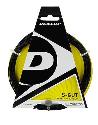 Dunlop Sports S Gut Tennis String Set (17G,