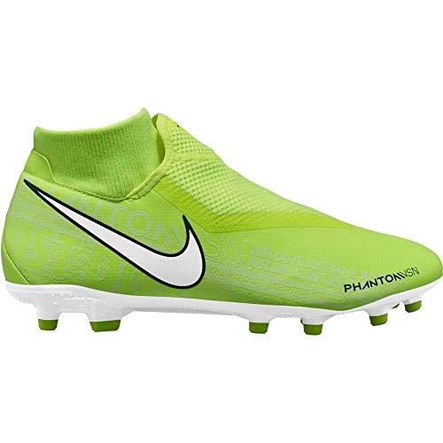 Nike Phantom Vision Academy Dynamic Fit MG, Botas de fútbol Unisex Adulto, Verde Volt/White/Volt 717...