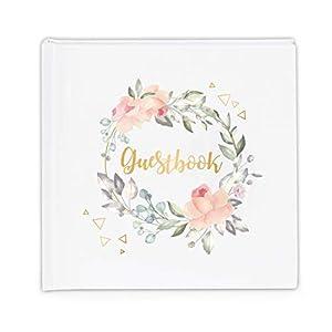 Sweelov Gästebuch Hochzeitsbuch 100 Seiten hochzeitsgeschenk für brautpaar Hochzeits-Album Taufe oder den Geburtstag…
