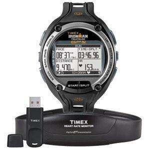 Timex Sportuhr Global Trainer mit GPS inkl. Brustgurt T5K444