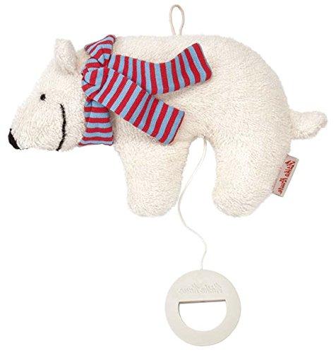 Käthe Kruse 87412 Baby Oskar Spieluhr Eisbär, klein