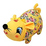 LX ART Christmas Peluche Toy, 2019 Pokemon - Christmas Decorations Gift, Cute Year of The Rat Mascot Zodiac Doll 22cm CV...