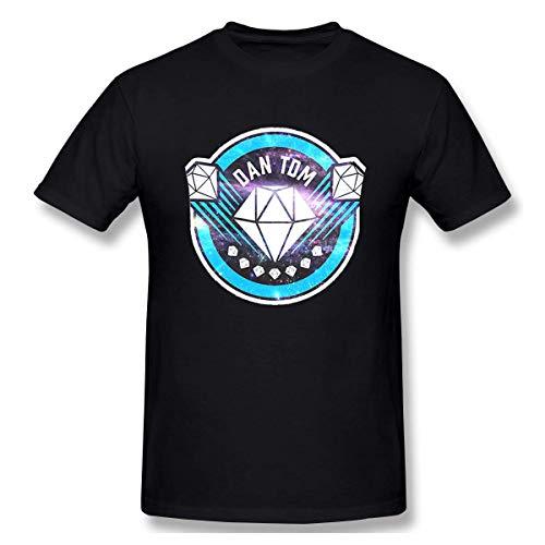Star Trek-jugend-t-shirt (Männer Jugend Jungen Klassisches T-Shirt DAN TDM Fans T Shirt Drucken Tee Shirts für Männer Jungen Sommer Casual Kurzarm Rundhals)