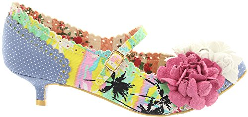 Irregular Choice, Scarpe col tacco donna Multicolore (Multicoloured)