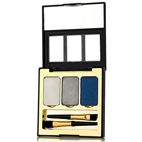 Soie Huile Du Marocain Argan Pressé Fard à Paupières Compact - à Trio/Palette Ombres à/D'Ombres à/A Minéral/Minéraux à Paupières/Minéraux Maquillage/Minéraux Maquillage pour les Yeux - à