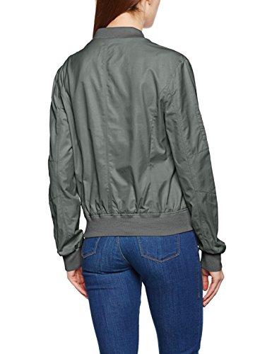 Marc O'Polo Damen Jacke 702109470111 Grün (Washed Moss 498)