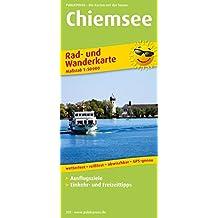 Chiemsee: Rad- und Wanderkarte mit Ausflugszielen, Einkehr- & Freizeittipps, wetterfest, reißfest, abwischbar, GPS-genau. 1:50000 (Rad- und Wanderkarte / RuWK)