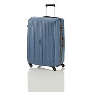 "Travelite Valise trolley ""Uptown"" avec 4 roues Taille L bleu marine Maleta, 75 cm, 113 liters, Azul (Bleu Marine)"