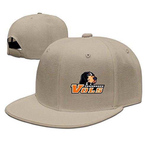 Tennessee Vols Baseball Fitted Hat Natural ()