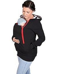 Culater® Manteau Veste de Porte-bébé Kangourou Vêtements d hiver ... 443d0a6c4df