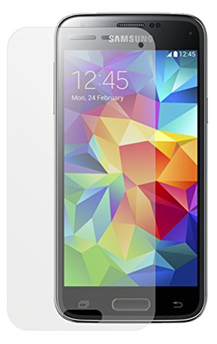 dipos Samsung Galaxy S5 mini Schutzfolie (2 Stück) - Antireflex Premium Folie matt