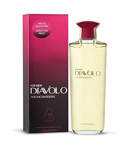 Antonio Banderas Diavolo for Men 200 ml Eau de Toilette Spray -