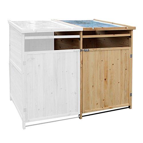 *Mülltonnenbox Holz 240 L Gartenbox Mülltonnenverkleidung Mülltonne*