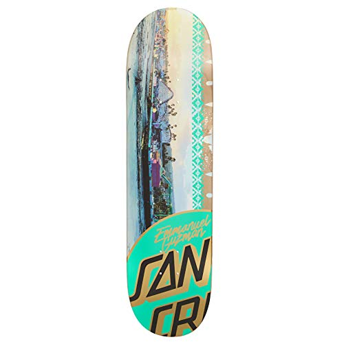 SANTA CRUZ Guzman Photo Op Skateboard Deck 8.25 inch Multi -
