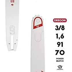 """Guide tronçonneuse Oregon 70 cm. 3/8"""" 1,6 mm 91 maillons 283RNDD025 Power Match - Pièce neuve"""