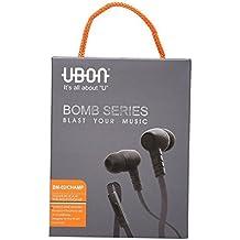 dolby sound Ubon Bomb Series Audio Bass In-ear Earphone/Headphone with Mic With Free Heart Shape Keychain