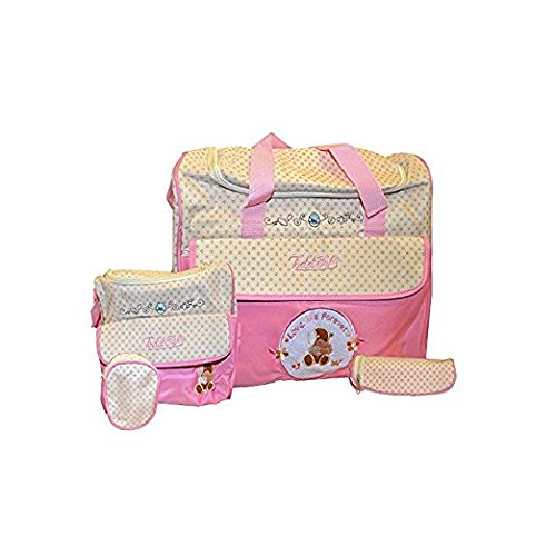 todd-baby-brand-new-5pc-bottle-food-bag-holder-set-diaper-nappy-changing-stylish-designed-strap-baby