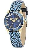 Just Cavalli Damen-Armbanduhr JUST IN TIME Analog Quarz Leder R7251202502