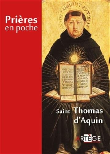 Prières en poche - Saint Thomas d'Aquin