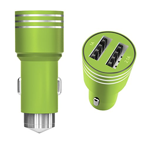 arc-premier-group-usb-2-in-1-car-charger-with-emergency-glass-breaker-hammer-durable-aluminium-body-