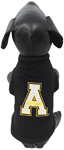 All Star Dogs NCAA Appalachian State Bergsteiger Baumwolle Lycra Hund Tank Top, Unisex - Erwachsene, Team Color, X-Large -