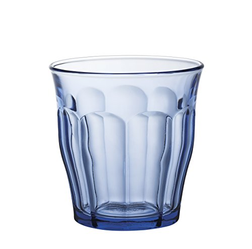 Duralex 1028bc04Picardie–Juego de 4vasos vidrio marino 9cm