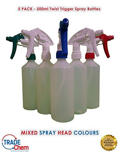 5-x-twist-tipo-bottiglie-spray-500-ml-senza-risciacquo-resistente-agli-agenti-chimici-di-pulizia