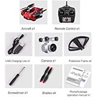 Price comparsion for Fantasyworld S13 2.0MP Camera 4 Channel 6 Axes Long Endurance Remote Control Quadcopter Camera Drone UAV Positioning System Aircraft