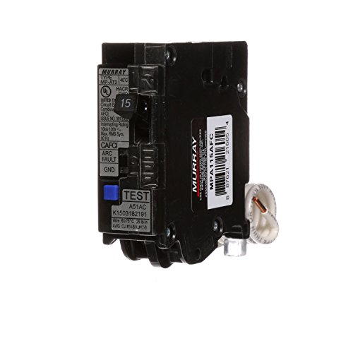 SIEMENS INDUSTRY INC Murray 15A Arc Fault Circuit Interrupter Breaker (Arc Fault Siemens)