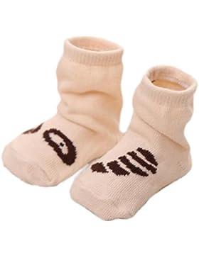3 pares de calcetines antideslizantes del bebé recién nacido Calcetines antideslizantes del bebé regalo de cumpleaños...