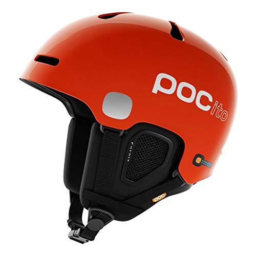 POC Pocito Fornix Kinder Skihelm, Pocito Orange, M-L (Poc Helm Orange)