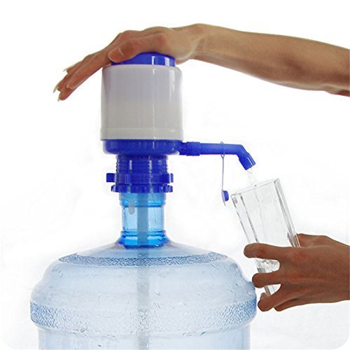 aqua plus manual hand press water dispenser pump for 20 litre bottles extra part for threader containers made in india  available at amazon for Rs.245