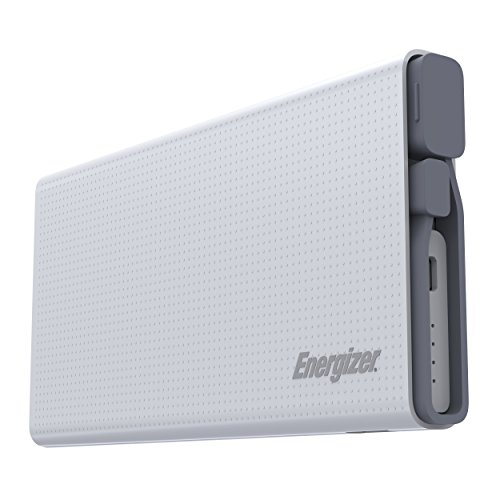 Energizer 10000mAh Quick Charge 3.0 Powerbank, externer Akku mit Qualcomm Quick Charge für iPhone XS/XS Max/XR/X/8/7, iPad, Huawei Mate 20 Pro / P20 Pro, Samsung Galaxy S9/S8 und viele mehr