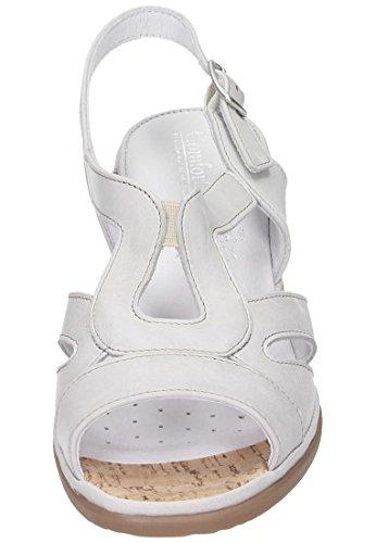 Comfortabel Damen Sandale Grau