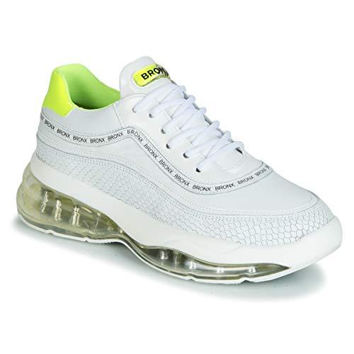 Bronx Damen Sneaker Low Bubbly weiß 40