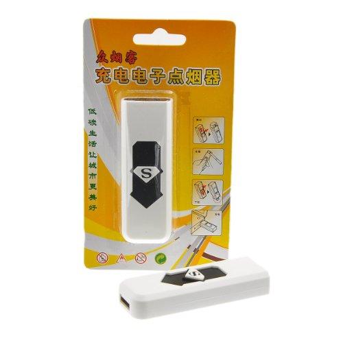 housweety-weiss-windgeschutzter-usb-zigarettenanzunder-elektronisches-feuerzeug-mit-usb-aufladung