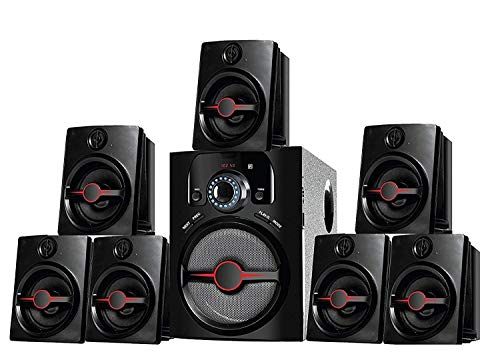 I Kall IK-4444 7.1 Bluetooth Multimedia Home Theater with FM/Pen Drive/Aux Support